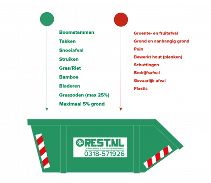 Groenafval container